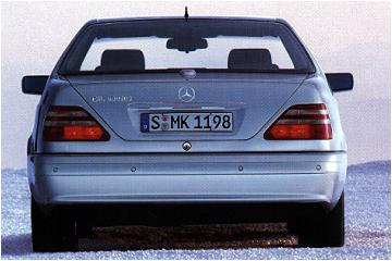 Mercedes CL Cope