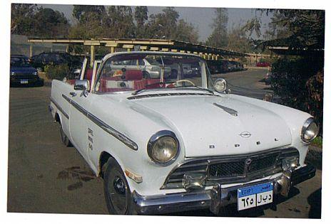 سيارة أوبل كابورليه موديل 1960 للبيع في مصر القاهرة كارز داير