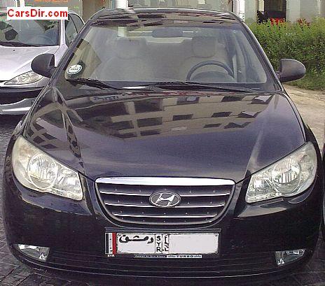 سيارة هيونداي افانتي موديل 2008 للبيع في سوريا دمشق ب سعر 800000
