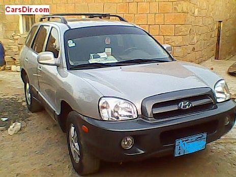 سيارة هيونداي سانتافي موديل 2004 للبيع في اليمن تعز ب سعر 9200 Usd