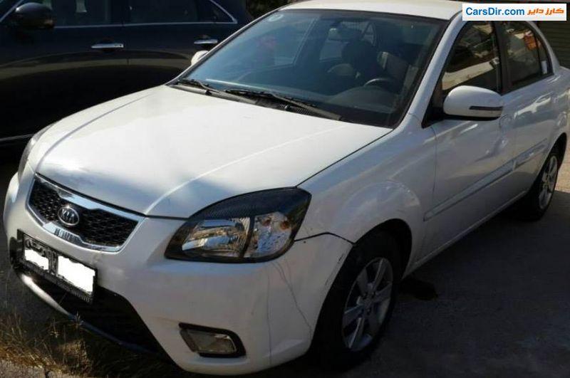 سيارة كيا ريو موديل 2011 للبيع في سوريا دمشق ب سعر 1 200 000 ليره كارز داير