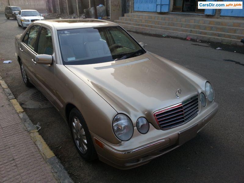 سيارة مرسيدس E 320 موديل 2001 للبيع في اليمن صنعاء ب سعر 12 500 دولار كارز داير