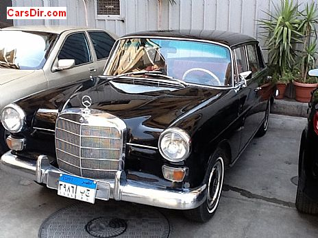 سيارة مرسيدس 200 موديل 1966 للبيع في مصر القاهرة كارز داير