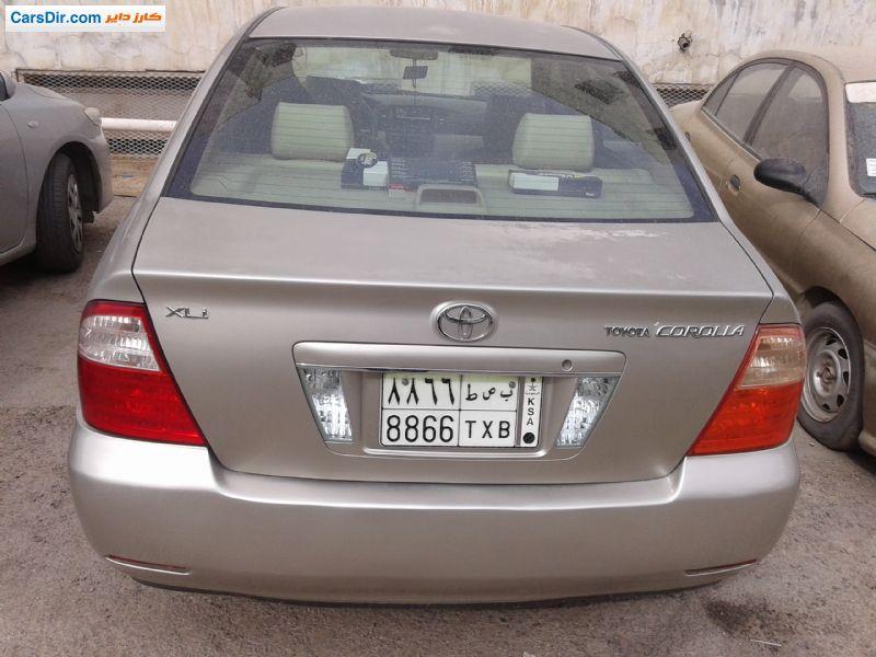 سيارة تويوتا كورولا موديل 2005 للبيع في السعودية الرياض ب سعر