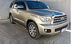 details of used TOYOTA Sequoia 2008 for sale Sharjah United Arab Emirates