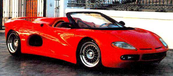 1992 bizzarrini bz2001 1
