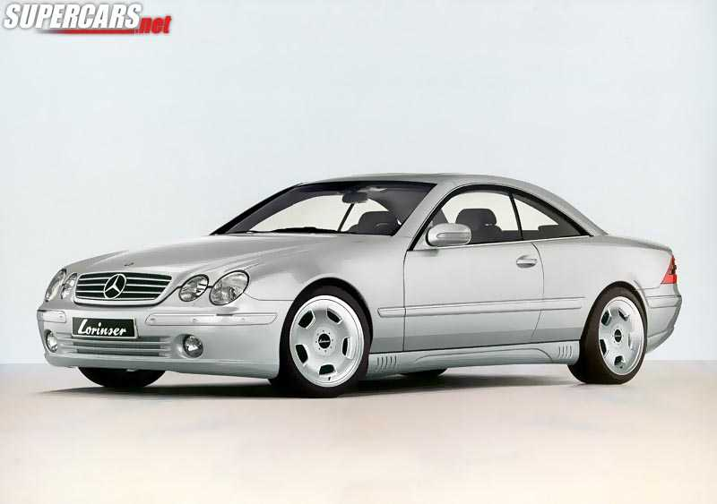 2001 mercedes benz lorinser cl 1