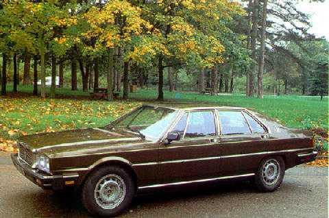 std 70s maserati royale