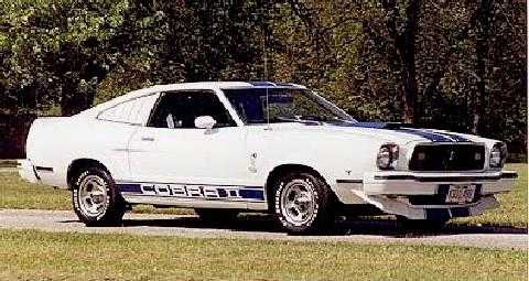 std 1976 mustang cobra ii coupe
