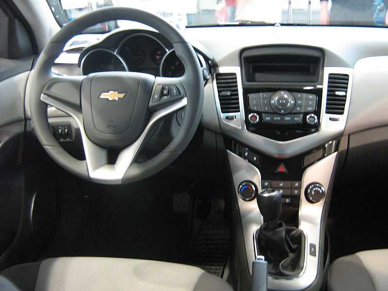 Chevrolet Cruze from tableau