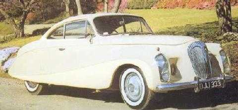 std 1953 daimler silver flash