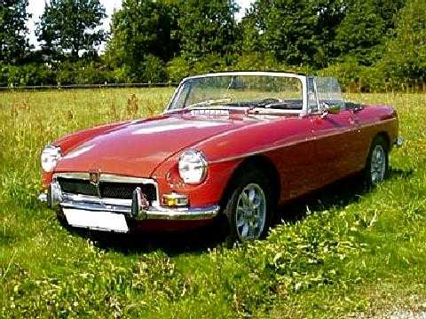 std 1973 mg b roadster red fvlmmod