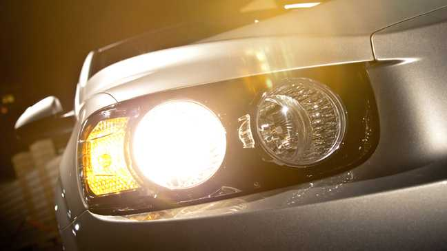 Chevrolet Sonic from front light