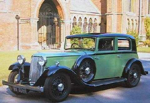 std 1935 Armstrong Siddeley 20hp