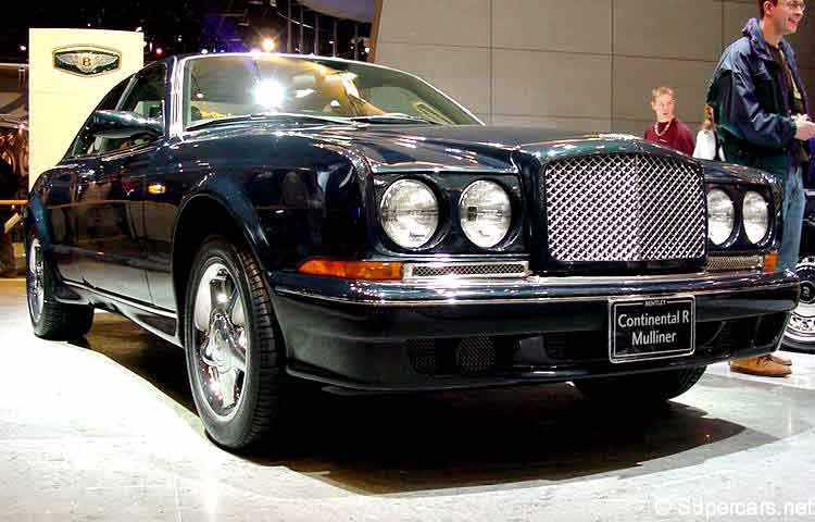 1995 bentley continental r 1