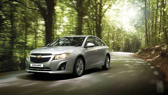 Chevrolet Cruze on the way