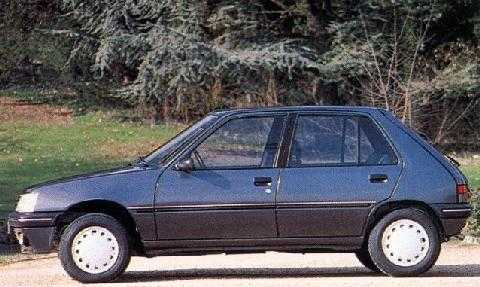 std 1994 peugeot 205 automatic
