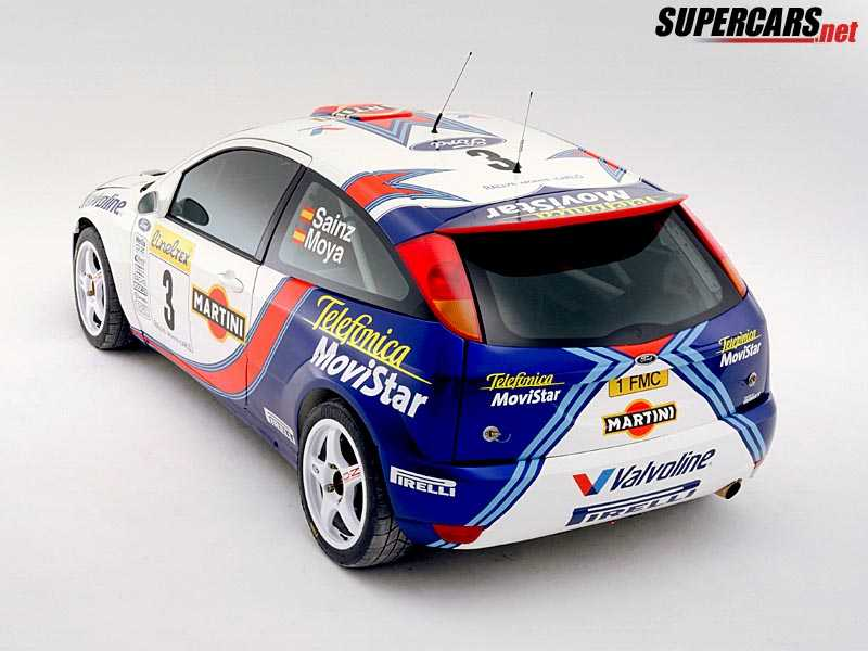 2001 ford focus rs wrc 2