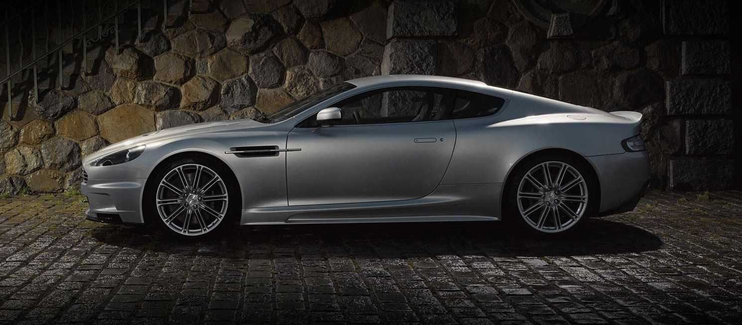 Aston Martin DBS from side