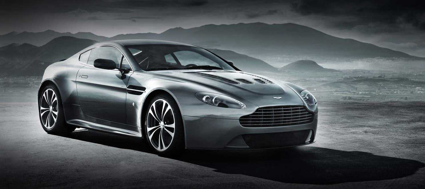 Aston Martin V12 Vantage Coupe from front