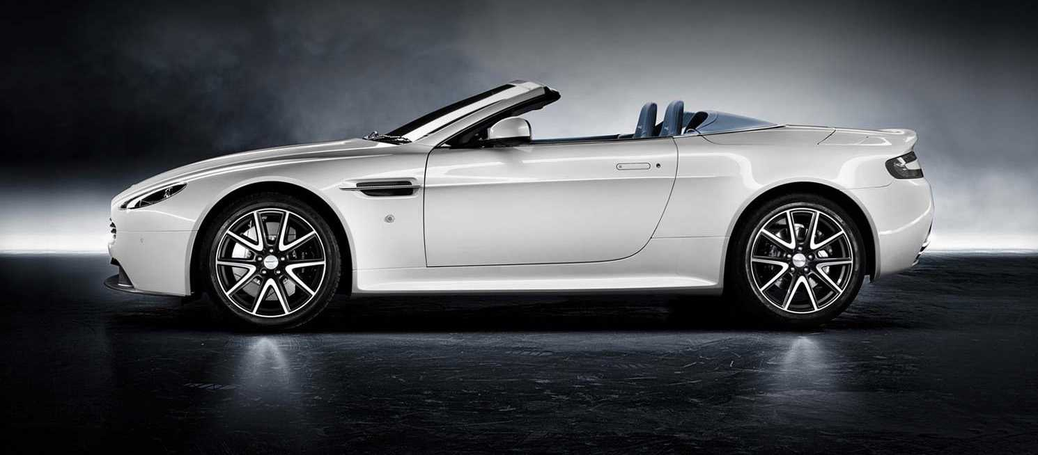 Aston Martin v8 Vantage S Roadster from side