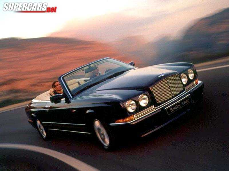 2000 bentley azure convertible 1