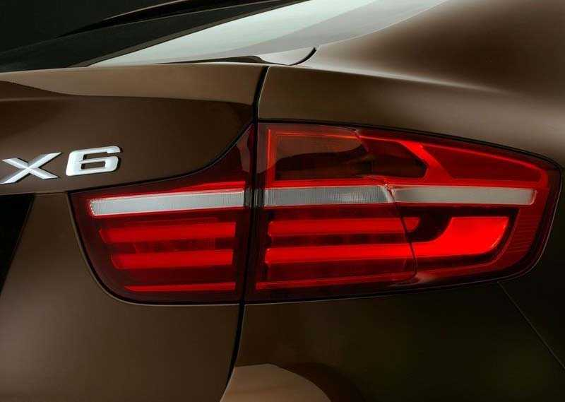 back light in BMW X6