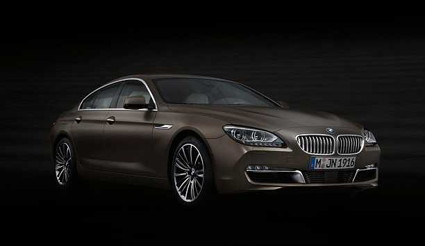 BMW 6 Series Gran Coupe model 2014