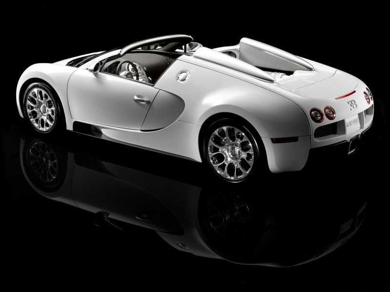 Bugatti over view from side