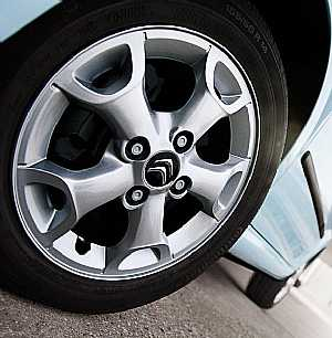 Citroen c1 from rims