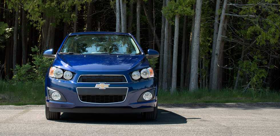 Chevrolet Sonic rpm from front