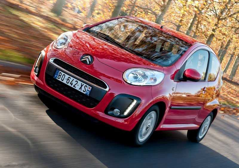 Citroen c1 from front