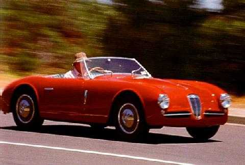 std 1947 lancia aprilia spide gran sport ghia fvr at speed