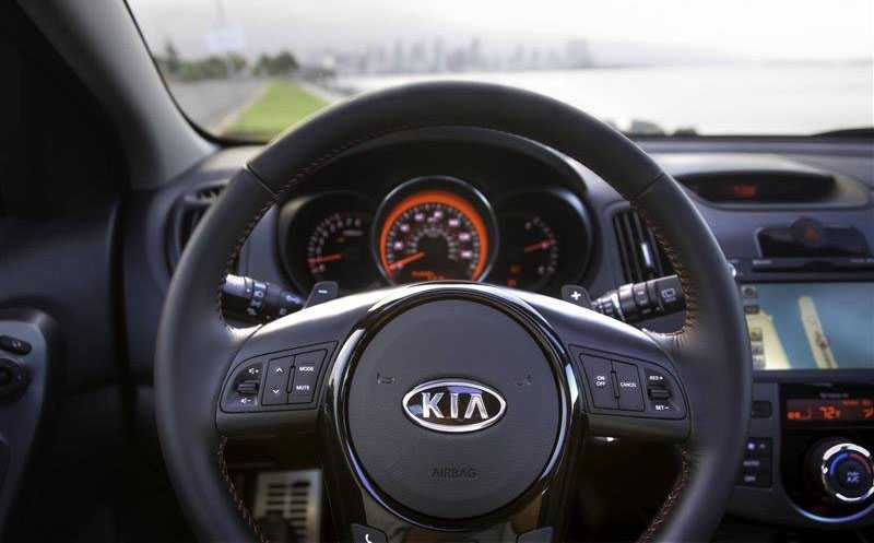 bag kia cerato 5 from hand drive