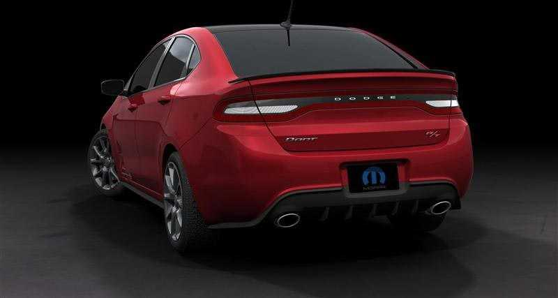 Dodge dart from back