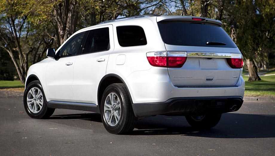 Dodge Durango from back