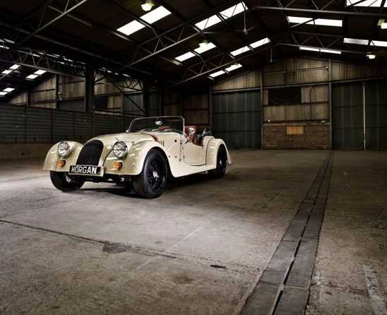 Morgan-Roadster from front