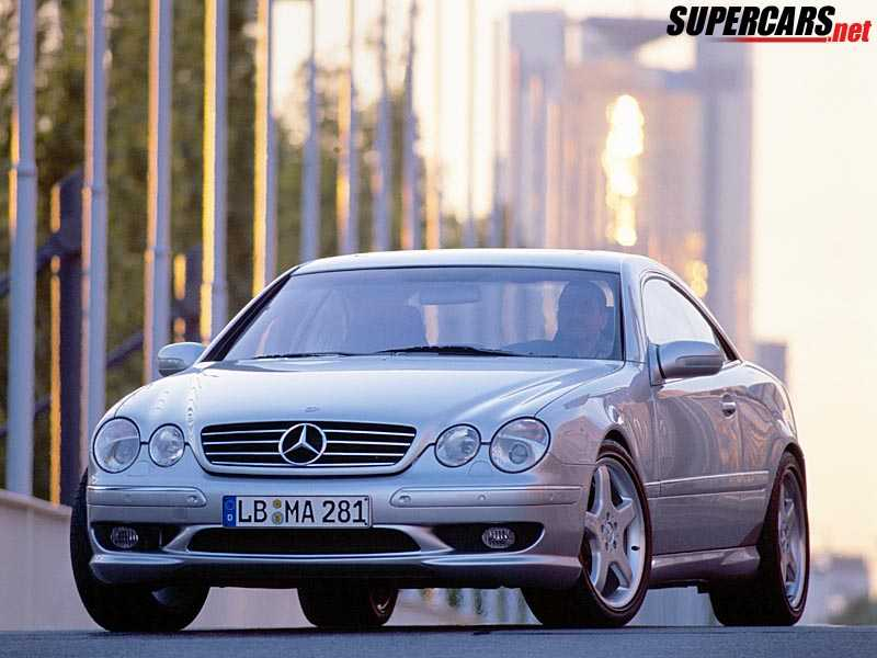 2000 mercedes benz cl 55 amg f1 2