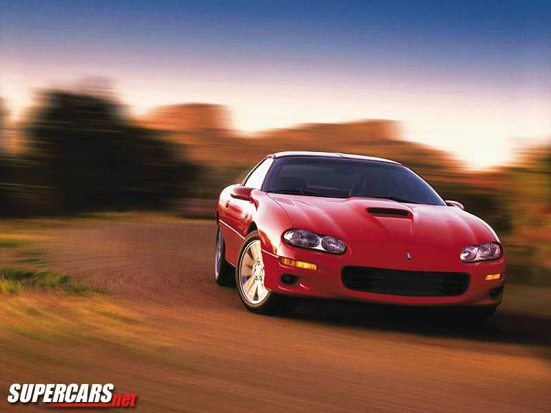 2000 chevrolet camaro ss coupe 1