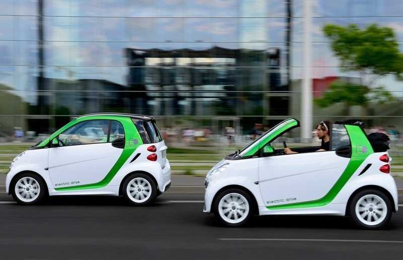 family Smart Fortwo electric drive