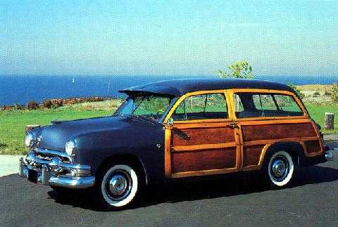 std 1951 ford country squire