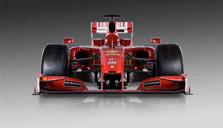 ferrari-f1 from front