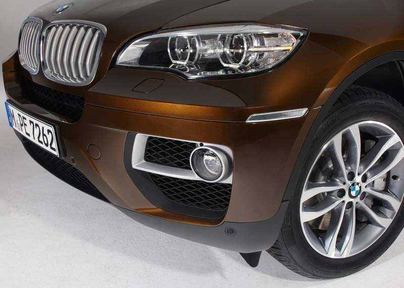 front face BMW X6