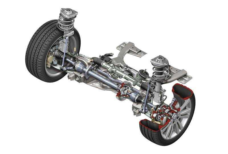 front suspension mercedes benz b class