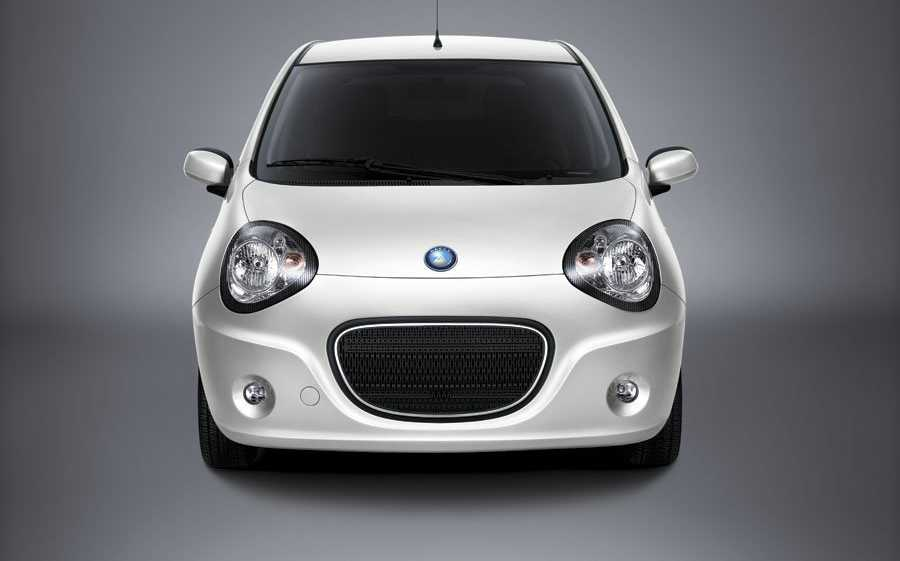 geely panda LC from front