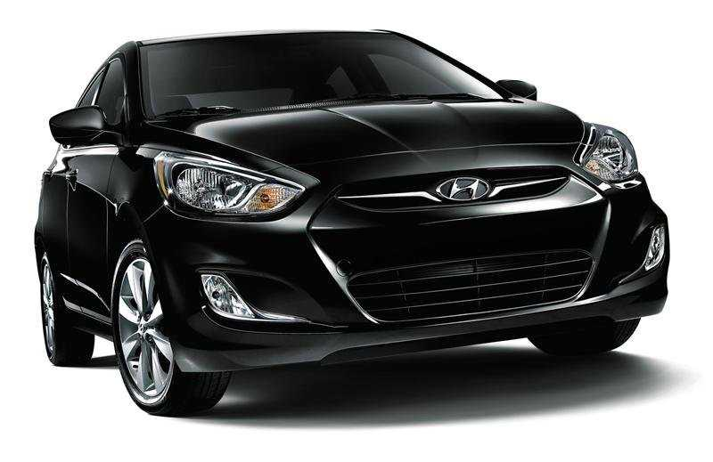 Hyundai Accent from front