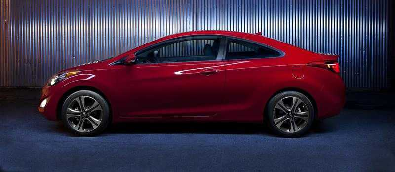 hyundai elantra coupe model 2013