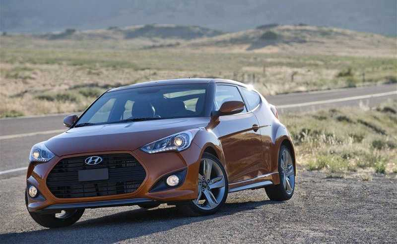 Hyundai Veloster Turbo model 2013