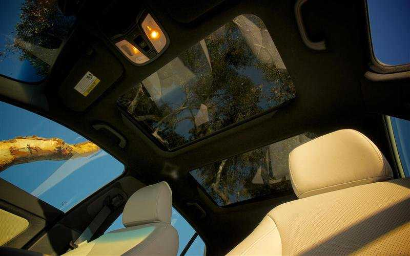 Kia Optima from sun roof
