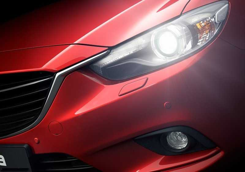 light on in Mazda 6